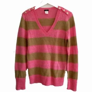 J. Crew Wynyer striped sweater, Size M